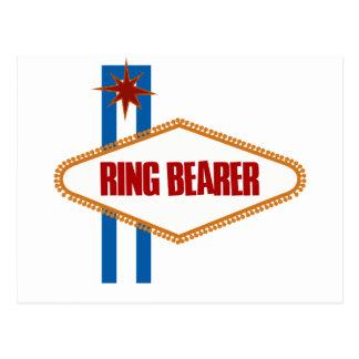 Las Vegas Ring Bearer Postcard