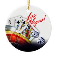 Las Vegas Roulette Wheel Ornament