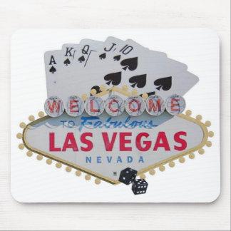 Las Vegas Royal Flush Poker Player Mousepad