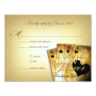 Las Vegas RSVP (contact me to personalize 4u) Card