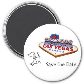 Las Vegas Save the Date B&G Magnet