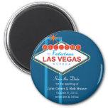 Las Vegas Save The Date Magnet