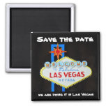 Las Vegas  Save the Date Magnets