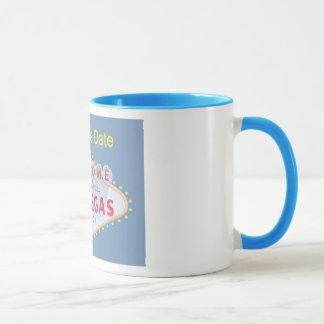 Las Vegas Save the Date Mug