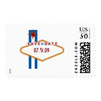 Las Vegas Save the Date Postage