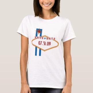 Las Vegas Save the Date T-Shirt