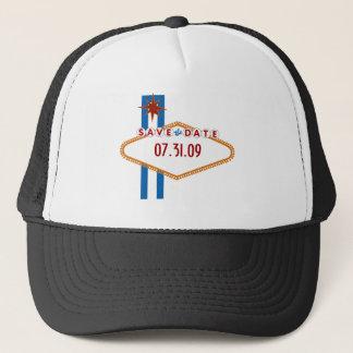 Las Vegas Save the Date Trucker Hat