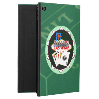 Las Vegas Sign And Two Kings Poker Chip Powis iPad Air 2 Case