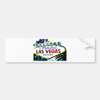 Las Vegas Sign Bumper Sticker