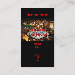 Street photography business cards templates zazzle las vegas sign business cards colourmoves