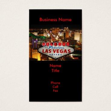 Professional Business Las Vegas Sign Business Cards