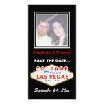 Las Vegas sign destination wedding Save the Date Photo Card