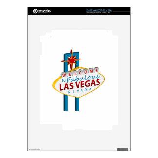 Las Vegas Sign Landmark Skins For The iPad 2