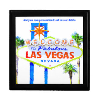 Las Vegas Sign on The Strip Keepsake Box