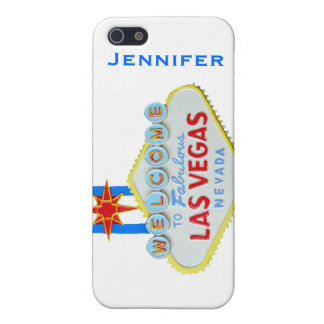 Las Vegas Sign Personalized iPhone SE/5/5s Cover