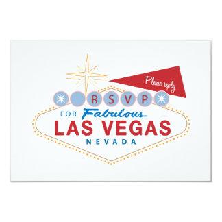 Las Vegas Sign RSVP | Wedding Response Card