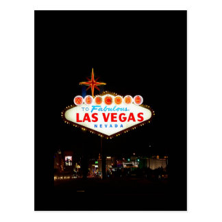 Las Vegas Sign Save The Date Wedding Picture Card