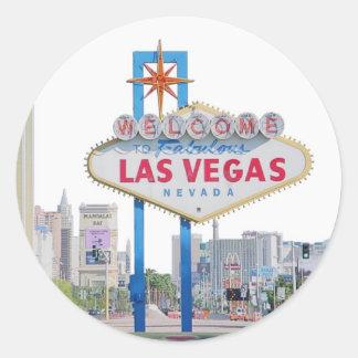 Las Vegas Sign Sticker