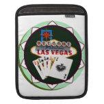 Las Vegas Sign & Two Kings Poker Chip Sleeves For MacBook Air