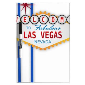 Las Vegas Sign Usa America Casino Gambling Games Dry-Erase Board