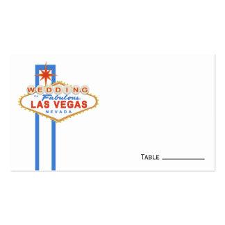 Las Vegas Sign Wedding Place Cards Business Card Templates
