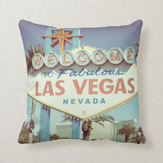 Las Vegas Sign, Welcome To Las Vegas Pillow