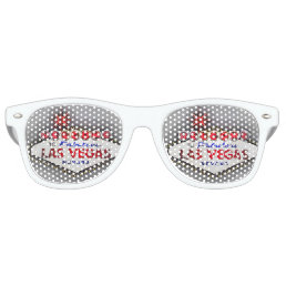 Las Vegas silver gray Retro Sunglasses
