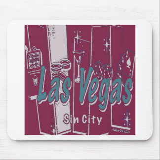 Las Vegas Sin City Mouse Pad