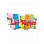 Las-Vegas-Sin-City Postcard