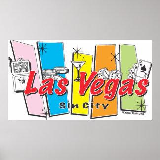 Las Vegas Sin City Póster