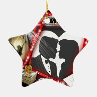 Las Vegas Sin City wedding Design Ceramic Star Decoration