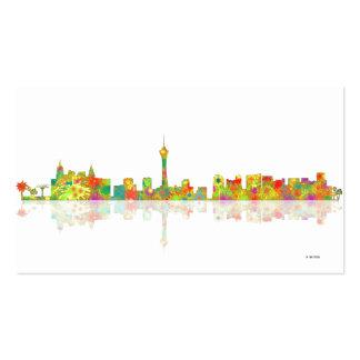 Las Vegas Skyline Business Card