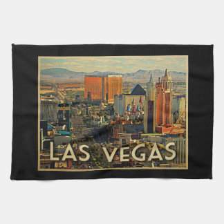 Las Vegas Skyline Hand Towel