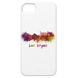 Las Vegas skyline in watercolor iPhone SE/5/5s Case