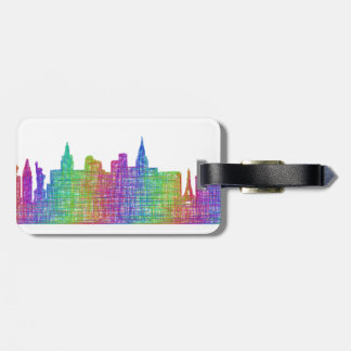 Las Vegas skyline Luggage Tag