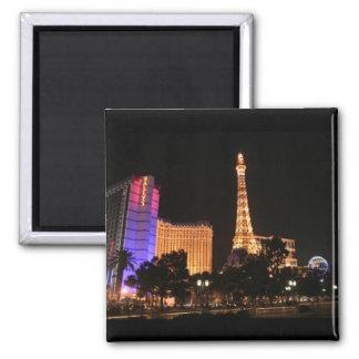 Las Vegas Skyline Refrigerator Magnet