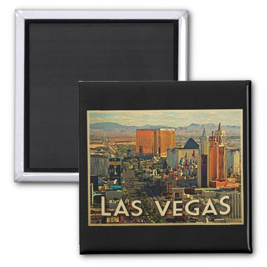 Las Vegas Skyline Magnet