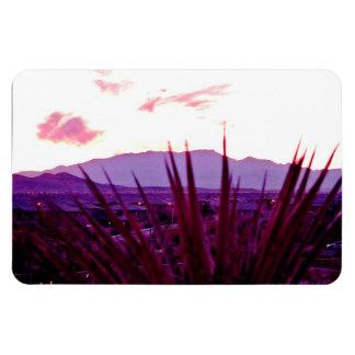 Las Vegas Skyline Residential Mountain View #1 Magnet