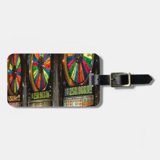 Las Vegas Slot Machines Bag Tag