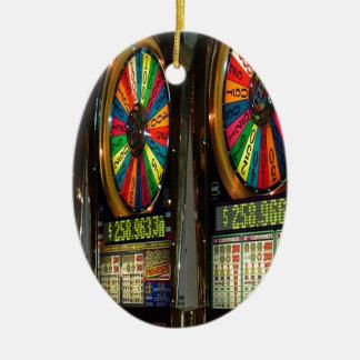 slot machine ornament