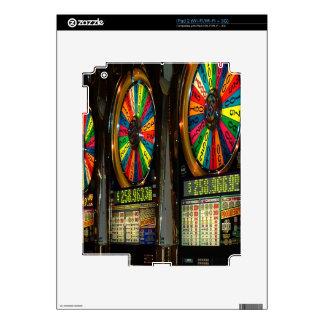 Las Vegas Slot Machines iPad 2 Skin
