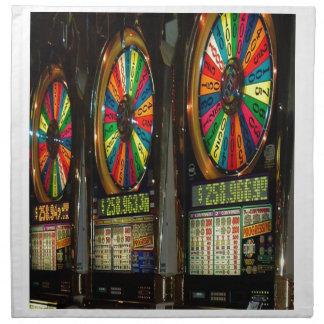 Las Vegas Slot Machines Napkin