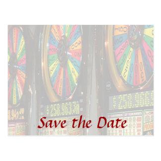 Las Vegas Slot Machines Postcard