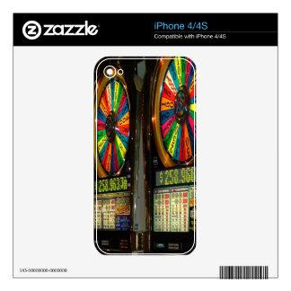 Las Vegas Slot Machines Skin For iPhone 4S