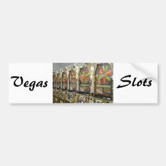 Las Vegas Slots Bumper Sticker