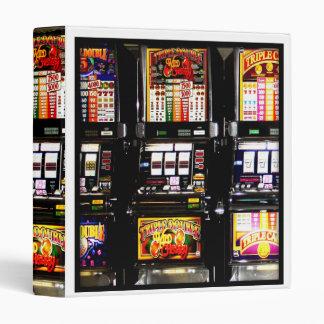 Las Vegas Slots - Dream Machines Vinyl Binders