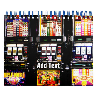 Las Vegas Slots Dream Machines Calendar