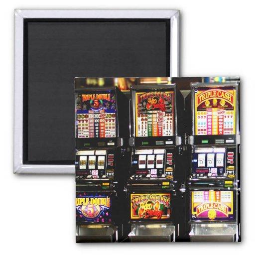 Las Vegas Slots - Dream Machines Refrigerator Magnets