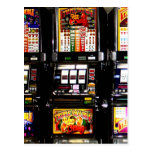 Las Vegas Slots - Dream Machines Post Cards