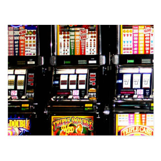 Las Vegas Slots - Dream Machines Postcard